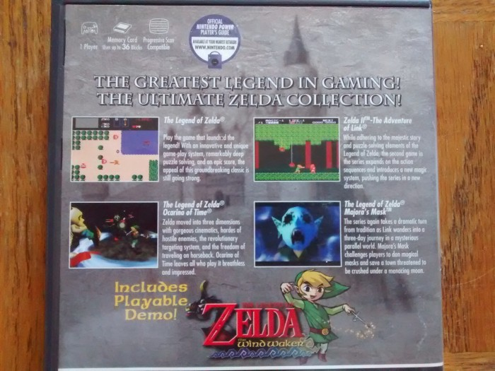 Legend of Zelda Collector Promotion Disc Art