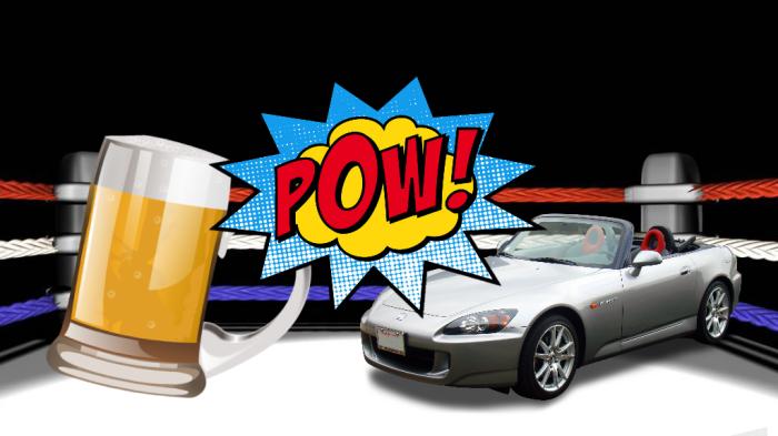 Beer vs cars