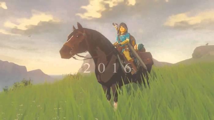 Nintendo Legend of Zelda 2016 promise