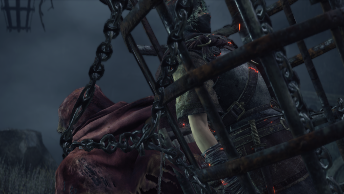Dark Souls 3 Mound Makers Cage Guy