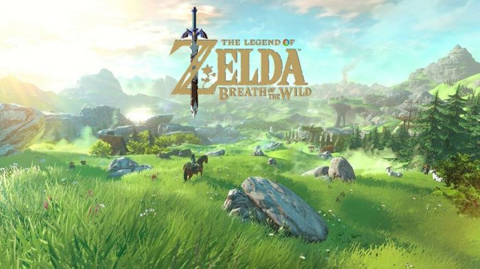 the legend of zelda breath of the wild title screen