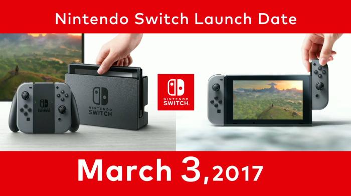 nintendo switch launch zelda