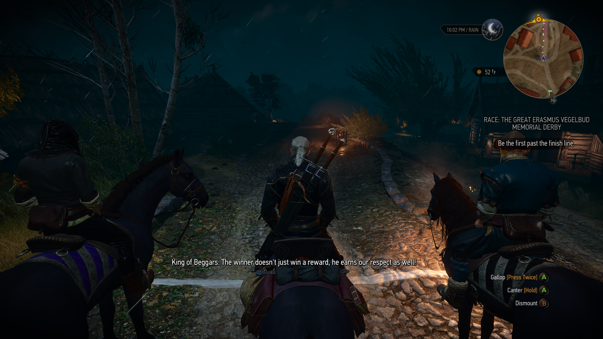witcher 3 palio paul walker race