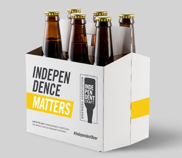 6_pack brewers association independent craft beer seal