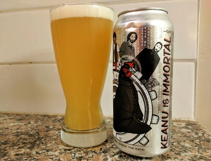 henhouse brewing co hazy juicy ipa keanu is immortal